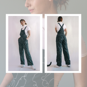 HOW TO HACK YOUR FAV PANTS PATTERN INTO OVERALLS